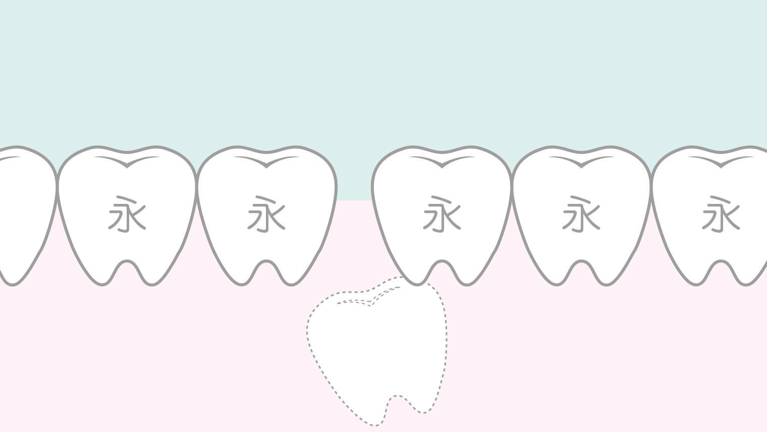 永久歯が生えてこない…原因と治療方法(先天性欠如・埋伏歯)
