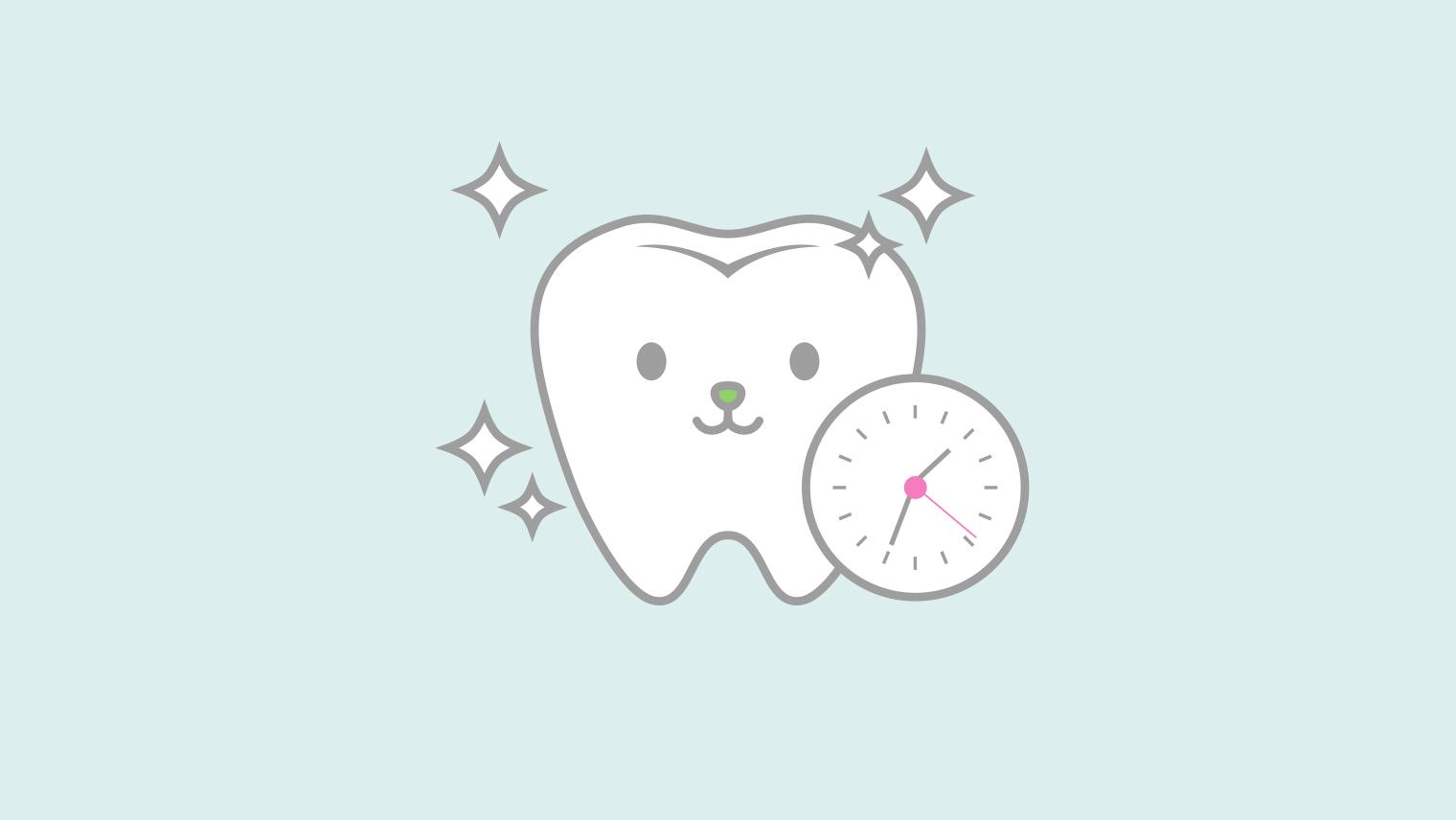 【歯医者が教える】ホワイトニングの1回の施術時間と効果持続期間